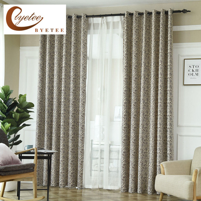 Delicieux {Byetee}Modern New Design Luxury Curtains For Living Room Curtain For  Bedroom Kitchen Door