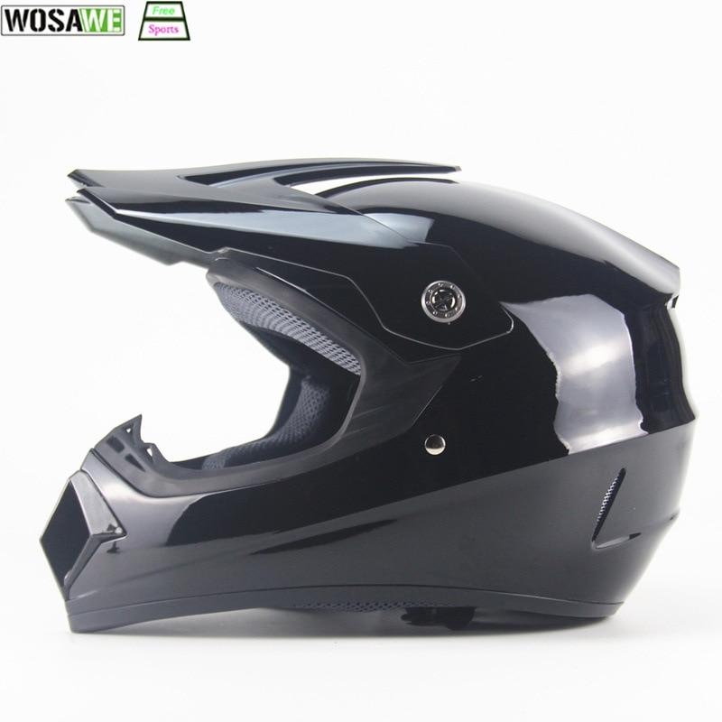 WOSAWE casque de vélo vtt adulte Motocross casque hors route vélo de descente vtt casque de course équipement de Protection de tête complet