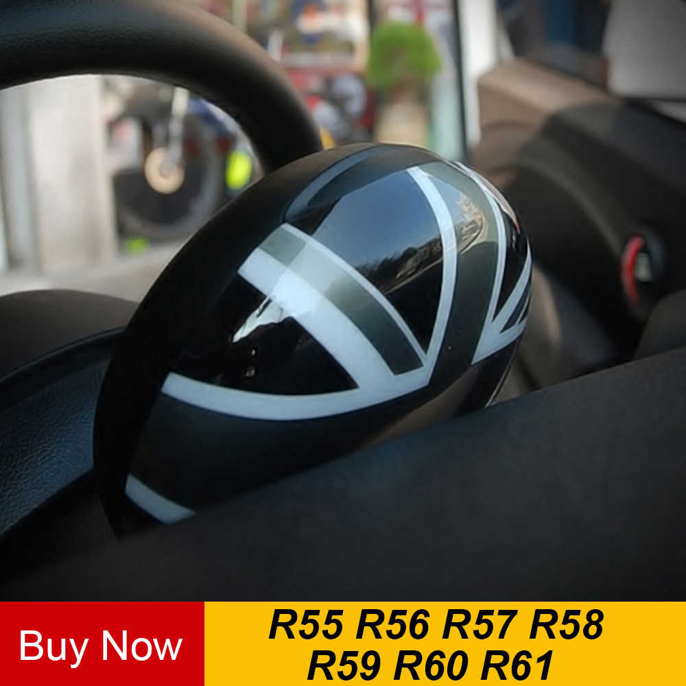 Areyourshop Union Jack UK Flag Rear View Mirror Cover Housing For MINI Cooper R55 R56 R57