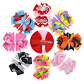 Kids dot barrette New Pattern Bow Hairpin Wave Point for baby Communion Headdress