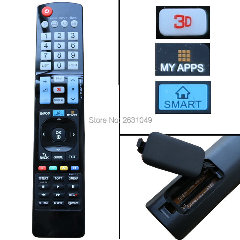 lekong Universal Replacement Remote Control For LG LCD LED HDTV 3D Smart TV   MY APPS