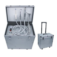 Dental lab equipment mobile portable dental unit dental turbine products with micromotor handpieces