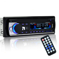 Radio Car Stereo Reproductor JSD-520 Bluetooth V2.0 Teléfono AUX-IN MP3 FM/USB/1 Din/control remoto 12 V Audio Del Coche Del bluetooth kit de coche