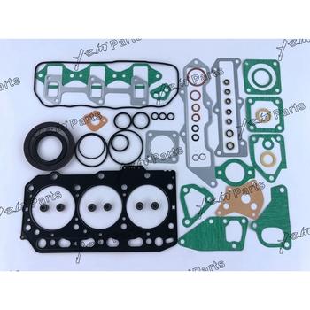 Dla części silników Yanmar 3D84 3D84-3 3TN84 3TNV84 3TNE84 pełny zestaw uszczelek z uszczelka głowicy tanie i dobre opinie 2017 3 cylinder Silnik odbudowy zestawy Made in China full gasket kit