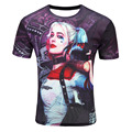 SYJON Novelty size M-4XL Europe and America Clown/Multicolor/Suicide squad print tops tee Hot 3d tshirt Men's casual t-shirt