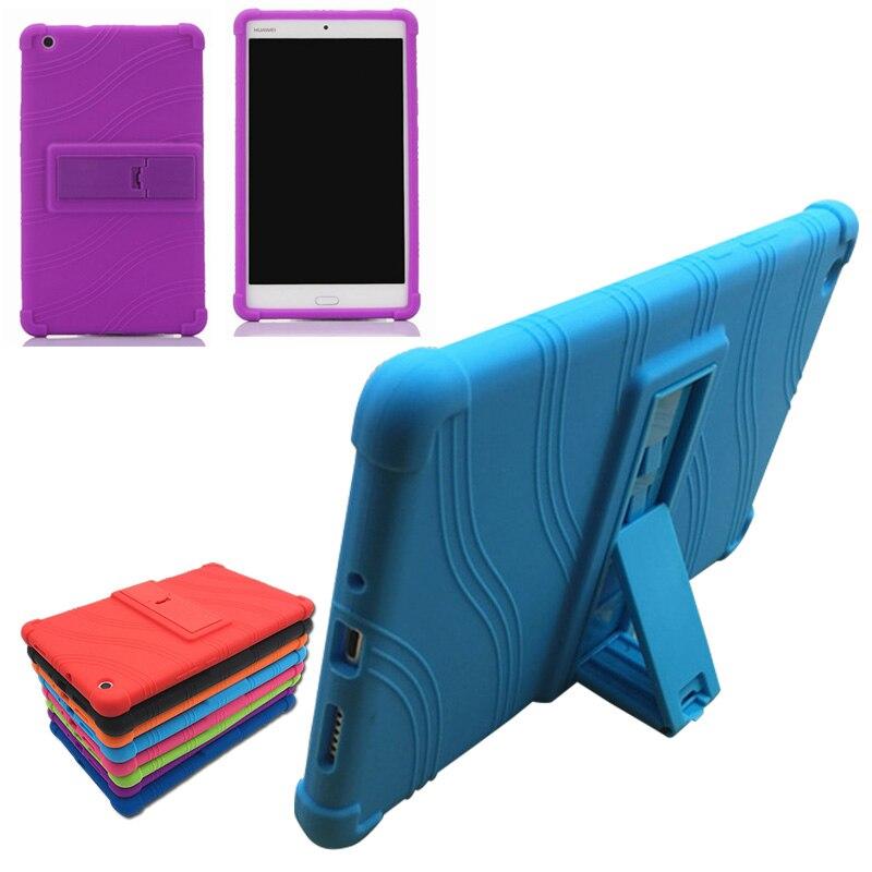 Ультра тонкий отойти принципиально чехол для Huawei MediaPad M3 Lite 8.0 cpn-w09 cpn-al00 8 дюймов Планшеты Мягкий силиконовый чехол + Плёнки + ручка