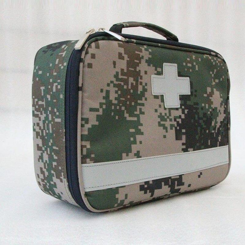Trousse de premiers soins en plein air Sports de plein air en Nylon rouge étanche sac de messager en croix sac de voyage familial sac médical d'urgence DJJB030
