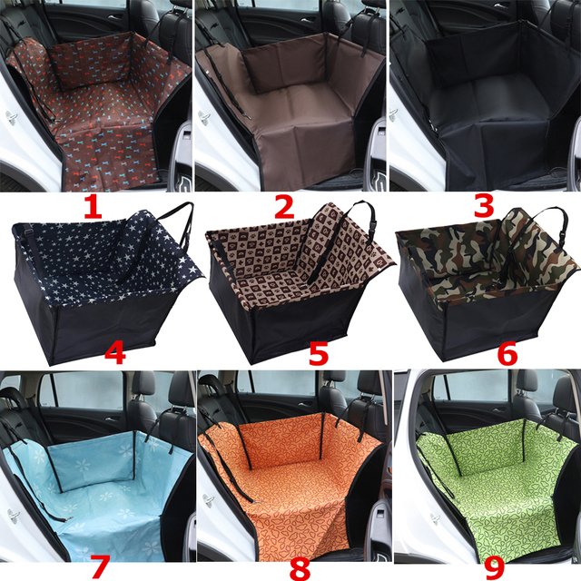 Waterproof Car Rear Back Single Seat Cover Pet Dog Carrier Cat Mat Blanket Hammock Cushion Protector Pet Supplies 1