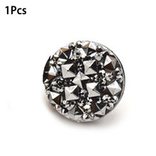 1 PC/12 Pcs Magnet Pin Fashion Muslim Abaya Diamond Craft Pin Khimar Jilbab Syal Magnet Pin Magnet Yang Kuat bros(China)