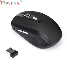 mosunx fashion 2.4GHz Wireless Gaming Mouse hot sale USB Rec