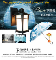 Outdoor waterproof Retro Wall Lamp European Vintage Style kerosene lamp Beside Light for bar coffee shop Led lights