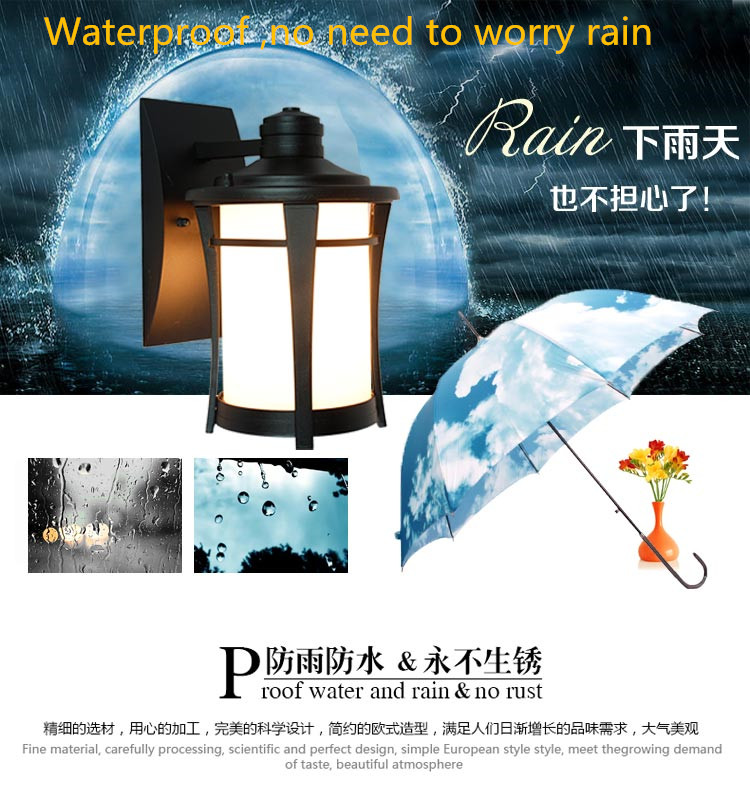 Outdoor waterproof Retro Wall Lamp European Vintage Style kerosene lamp Beside Light for bar coffee shop Led lightsOutdoor waterproof Retro Wall Lamp European Vintage Style kerosene lamp Beside Light for bar coffee shop Led lights