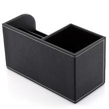 Multifunctional Leather DeskOrganizer