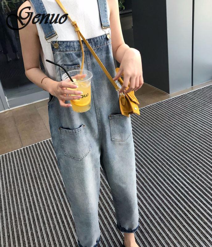 2019 nouveau automne femmes taille haute salopette dos Zipper pantalon Mujer Streetwear Capris dames Sexy large jambe pantalon barboteuse