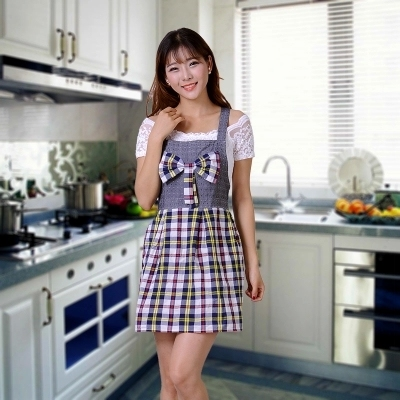 Housewife bubble outdoor asian