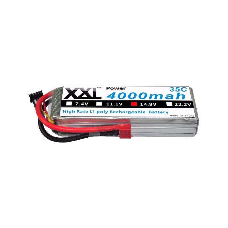 XXL-High-Rate-Compact-Lithium-Polymer-LiPo-Li-Polymer-Battery-Li-Po-4S-14-8v-4000mah