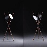 Modern Light Wooden Stand Led Floor Lamps Novelty Furniture Decorative Floor Lights Bedroom Bedside Living Room Standing Lamps