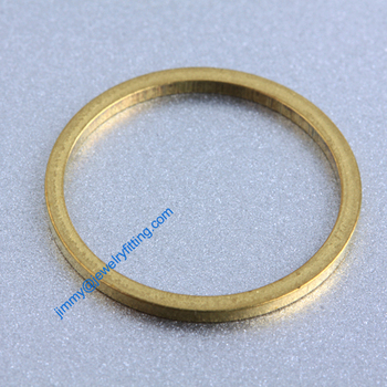 2000 PCS Raw Brass 19*1.2*1.2mm copper Rings fashion jewelry findings jewelry Connectors Quoit