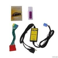 Samochód MP3 odtwarzacz interfejs radia zmieniarka cd USB SD AUX w For Audi A2 A4 A6 S6 A8 S8 G6KC w Odtwarzacze MP3 do samochodu od Samochody i motocykle na