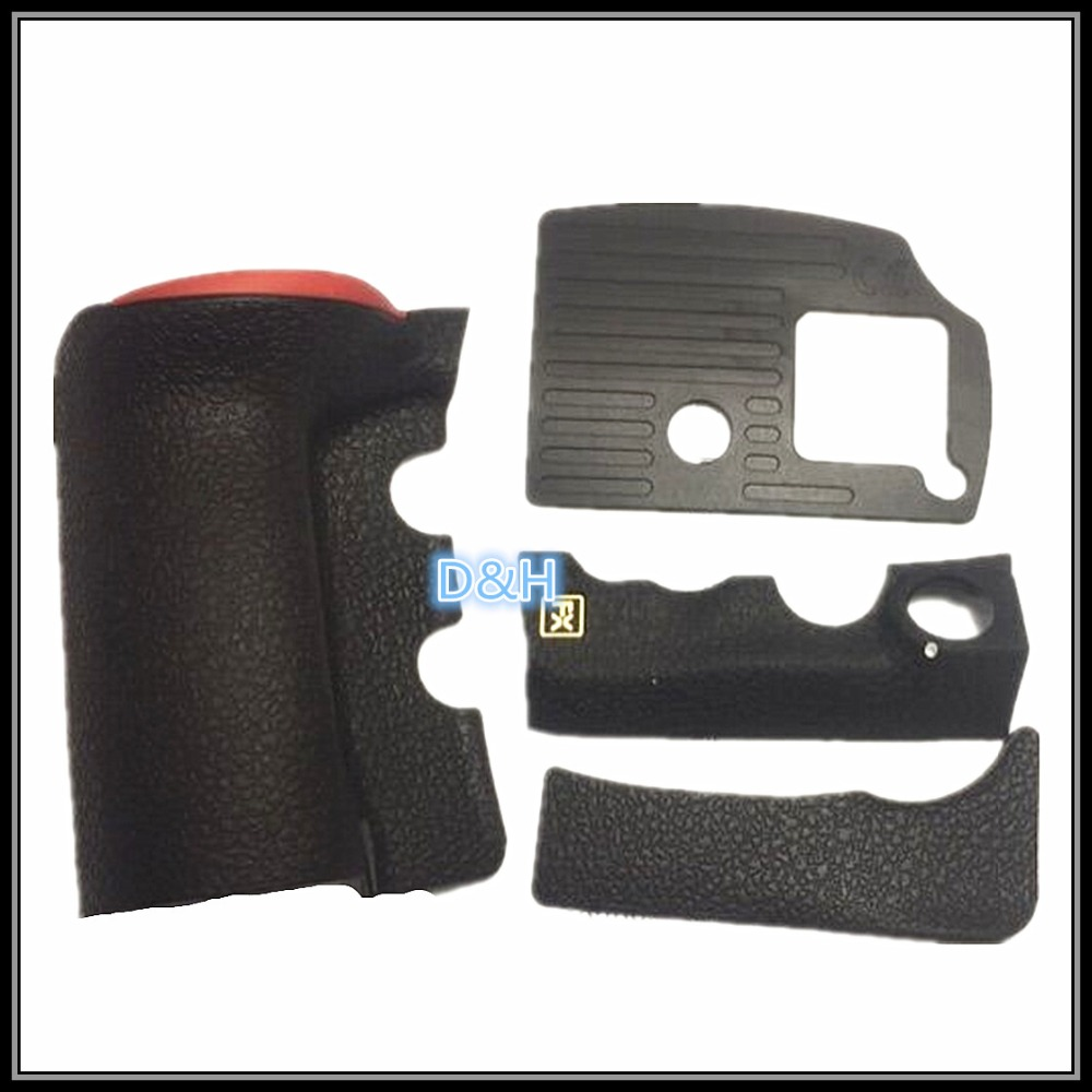 NEW Original A Set Of Body Rubber 4 pcs Front cover and Back cover Rubber For <font><b>Nikon</b></font> <font><b>D810</b></font> Repair Spare <font><b>Parts</b></font> image