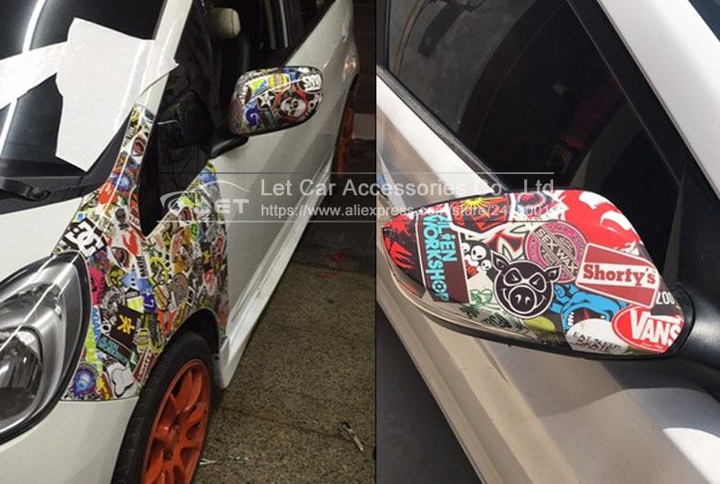 New Bomb Vinyl Sticker On Car Diy Graffiti Sticker Bomb Wrap Car