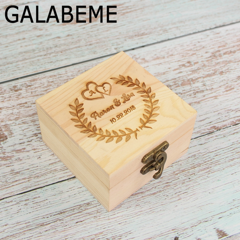 Ring Bearer Box Custom Wedding