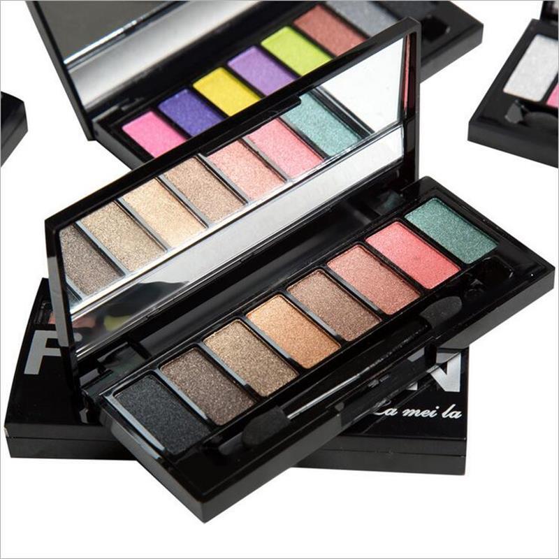 2016 New <font><b>Hot</b></font> Refinement Eight-color makeup <font><b>eyeshadow</b></font> pallete Beauty waterproof Three-dimensional lasting <font><b>nude</b></font> <font><b>eyeshadow</b></font> <font><b>palette</b></font>