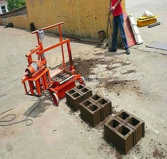 Mobile Concrete Block Making Machine Manual Cement Block