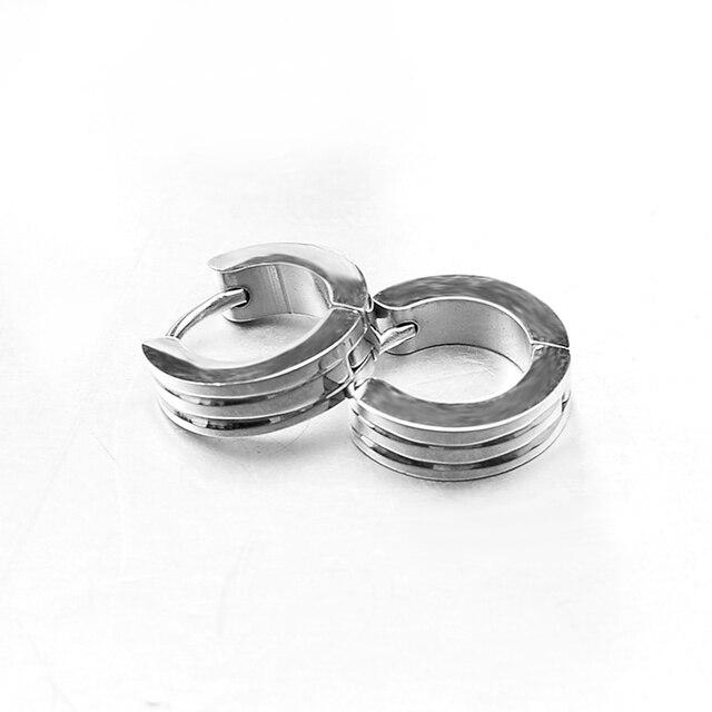 GOKADIMA 316l Stainless Steel Net Men s Earrings For Biker Rocker Punk Wholesale WE539.jpg 640x640 - GOKADIMA 316l Stainless Steel Net Men's Earrings For Biker Rocker Punk, Wholesale,WE539