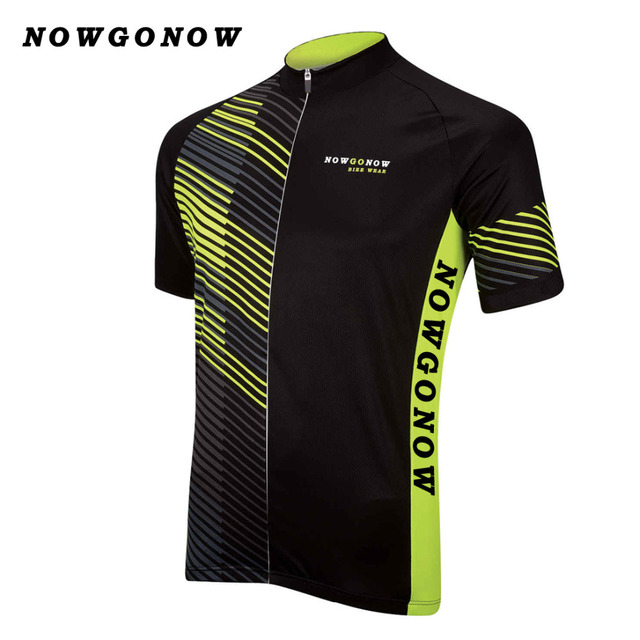 2017 cycling jersey men black yellow pro team clothing bike wear NOWGONOW  tops road mountain Triathlon summer Maillot Ciclismo f17dc24f3