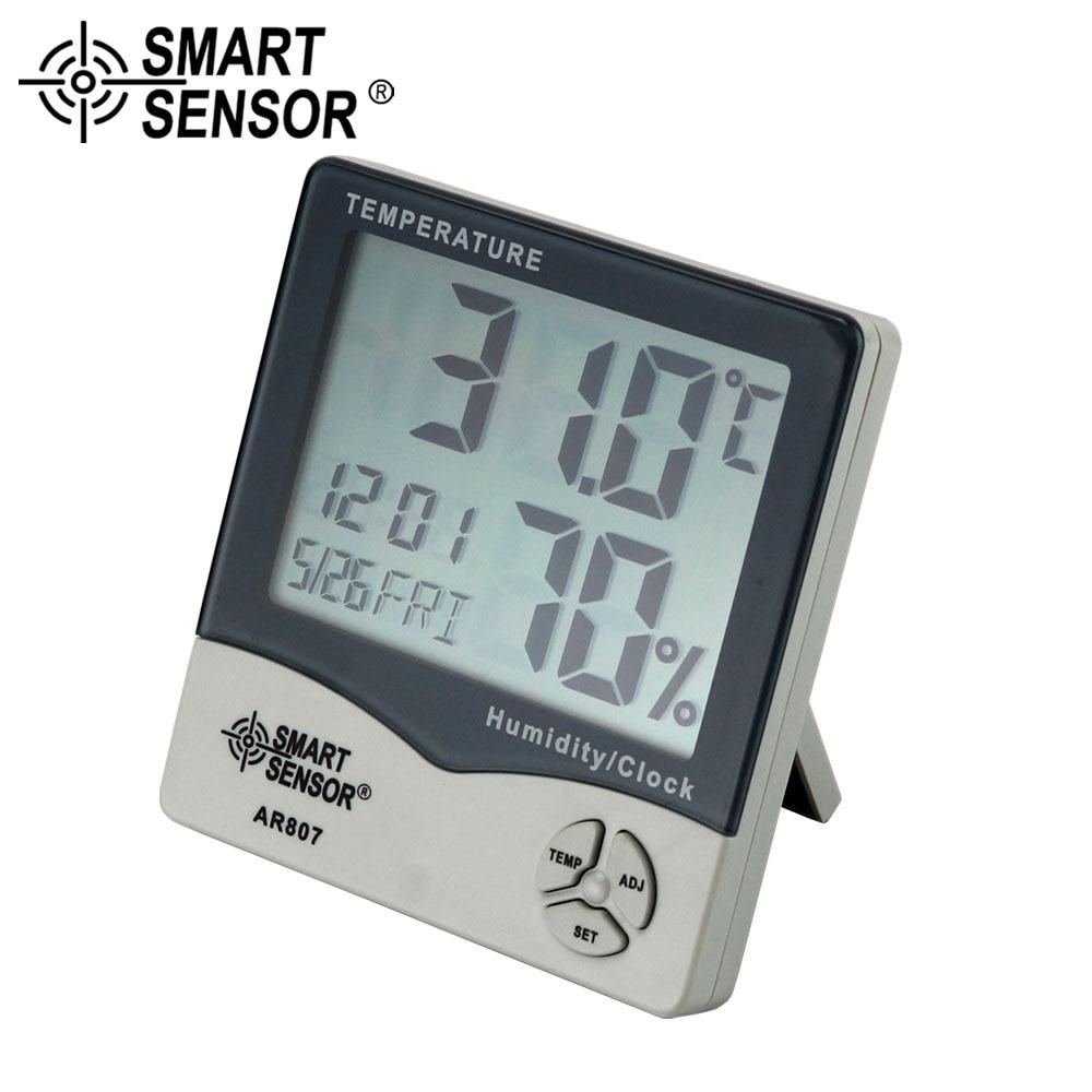 Smart Sensor Lten Station Digital Hygrometer Thermometer Termometer Feuchtigkeit Temperatur Meter Tester Wetter