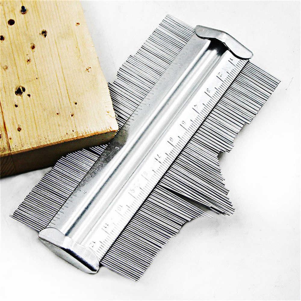מתכת קונטור מד 125mm פרופיל ריצוף לרבד אריחי שטיח רדיאן מד מעתק מודד מד Contour מעתק