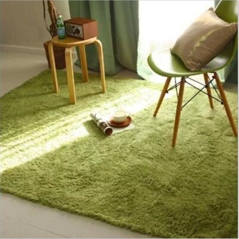 Soft Fluffy Rugs Anti-Skid Shaggy Carpets Kids Room Faux Fur Area Rug Living Room Mats European Fluffy Mat Home Supplies