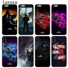 Lavaza cs gehen Counter Strike Globale Offensive csgo Harte Telefon Abdeckung Fall für iPhone XR X XS 11 Pro Max 10 7 8 6 6S 5 5S SE 4 4S(China)