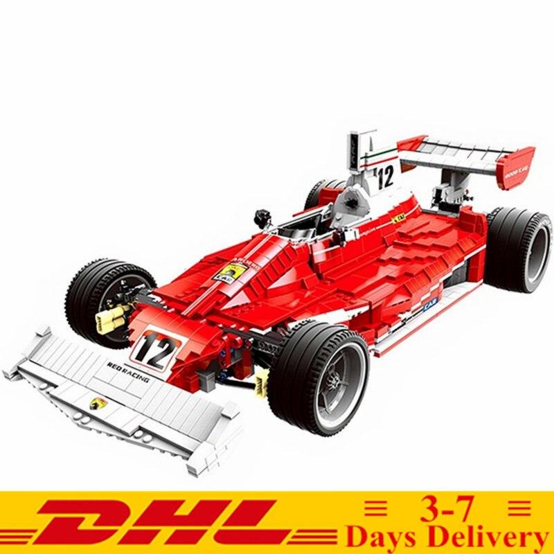 2019 nowy Technic Grand Prix formuły F1 klocki Model zestawy klocki klasyczne dla dzieci zabawki prezent w Klocki od Zabawki i hobby na  Grupa 1