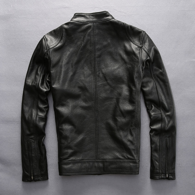 varm försäljning ko läderkläder man över storlek äkta kohid - Herrkläder - Foto 4