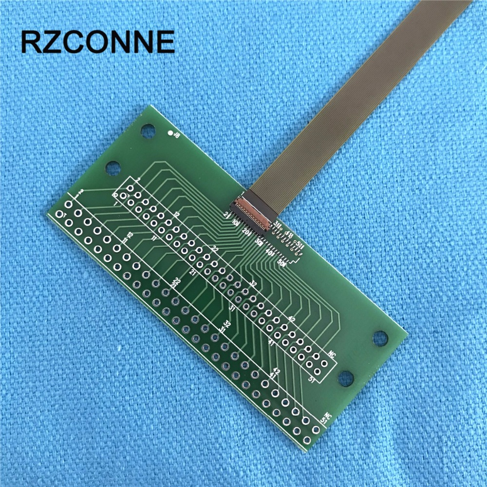 25Pin Connector 2.0mm 2.54mm Cable To 0.3mm Pitch DIP FPC LVDs MIPI Adapter With FPC Flexible Flat Cable 60mm-150mm Choose