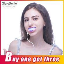 Профессиональный стоматологический комплект отбеливания зубов с 16 Светодиодный Свет Отбеливание 3 отбеливание гелевая ручка отбеливание зубов белее GlorySmile