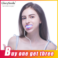 Professional Dental Teeth Whitening Kit with 16 LED whitening light 3 Whitening gel pen bleaching tooth whiter GlorySmile