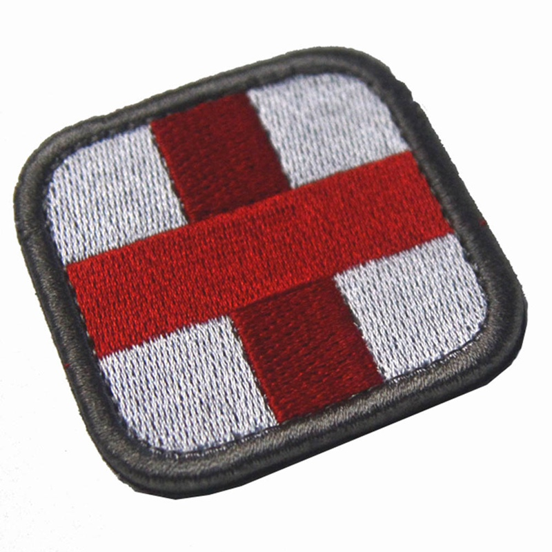 Patch Medic With Magic Backpack Sticker Fabric Army Morale First Aid Emergency Cloth Cross Badge Military Patch 2019