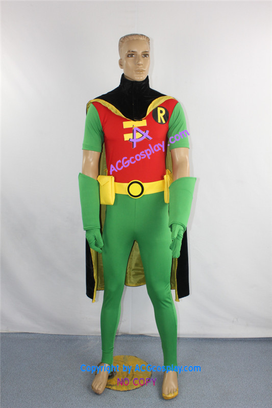 Teen Titans Robin Cosplay Costume-In Movie  Tv Costumes -9855