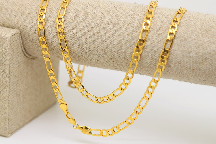 chains cm mesh yellow product color collection chain karat italian gold titanium zfolio