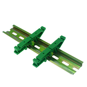 PCB Circuit Board Mounting Bracket For Mounting DIN Rail Mounting 2x Adapter+4x Screws,hole pitch =32mm(China)