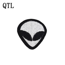 5pcs Alien patches punk badges for clothing iron embroidered patch applique iron on patches sewing accessories for DIY clothes