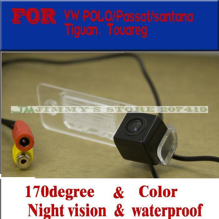 Color del coche cameracar electrónico para VW Tiguan/Touareg/POLO sedán/Passat/s