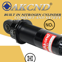 AKCND Universal 320mm-340mm /12.5 aerox nmax nmax155 dio pcx XMAX 300 Forza 125 Motorcycle shock absorber Rear