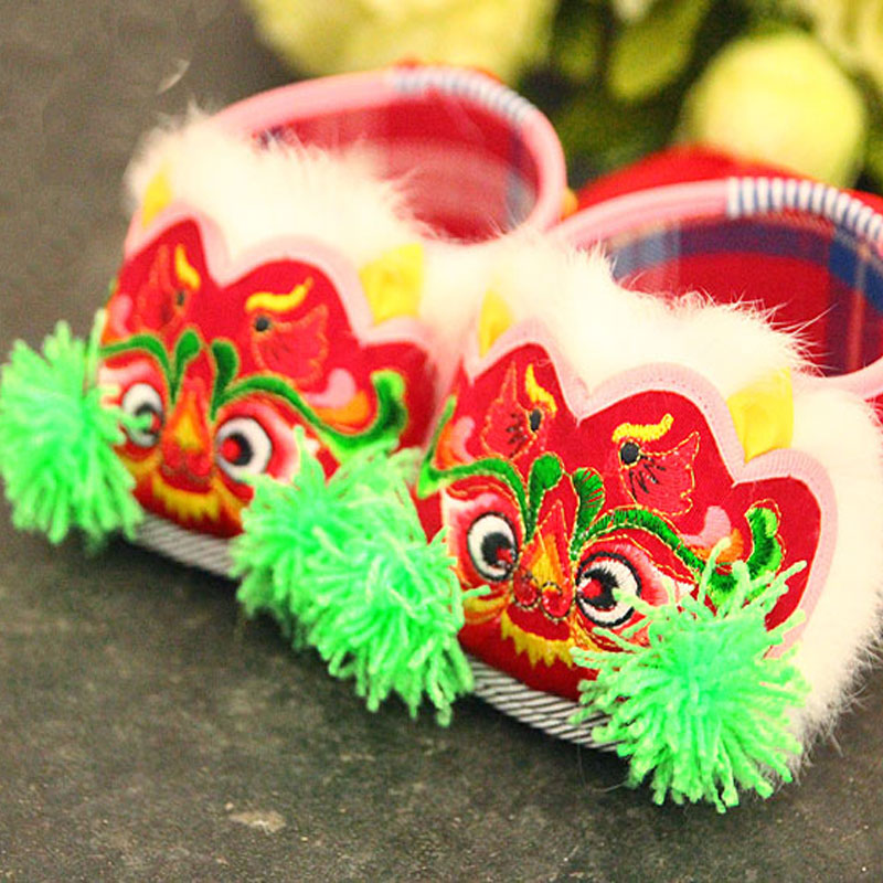 Mopopo Baby Shoes First Walkers Chinese Style Hand-made Winter Warm Newborn Baby Shoes Unisex Cotton Baby Toddler Shoe Hot Sale 2016new cute suede genuine leather baby moccasins first walkers soft toddler fringe crib shoes baby newborn 0 30month chaussures