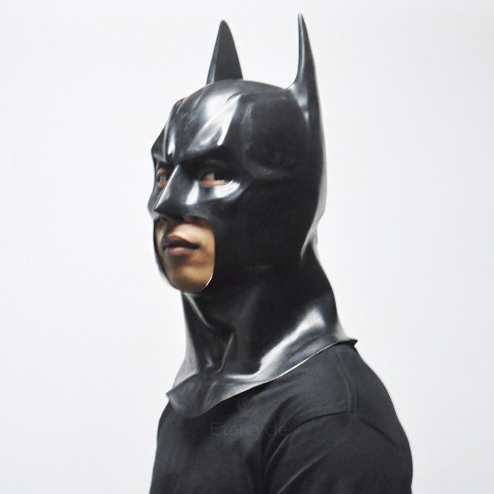 Batman Maskaları Yetkinlər üçün Halloween Maskası Tam Üz Latex - Şənlik aksesuarları - Fotoqrafiya 2