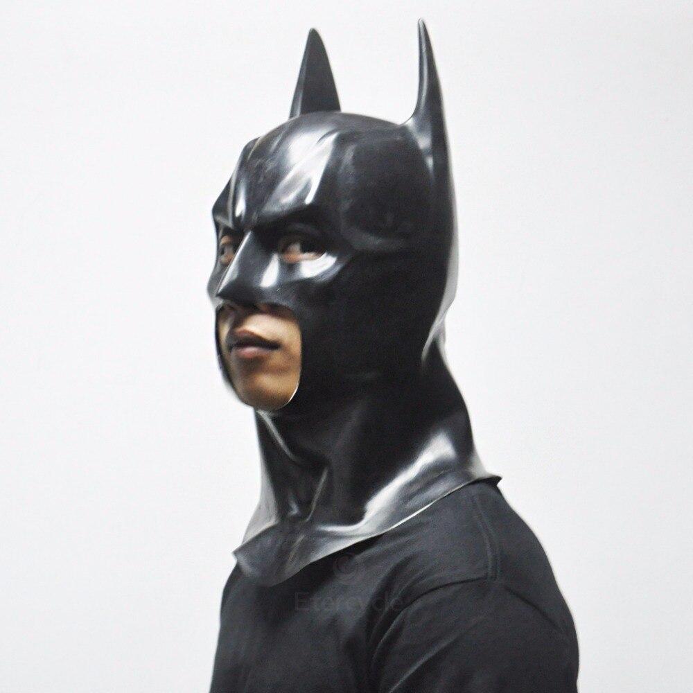 Batman Masks Vuxen Halloween Mask Full Face Latex Caretas Film Bruce - Semester och fester - Foto 2