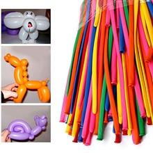 Party Birthday Wedding Decoration 200 Pcs Mixed Color Magic Long Animal Tying Making Balloons Twist Latex Balloon wd02
